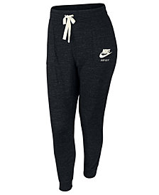 Nike Plus Size Sportswear Gym Vintage Heathered Pants
