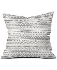 Deny Designs Allyson Johnson Gray Aztec Throw Pillow