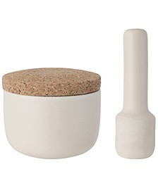Leo Collection Small Mortar and Pestle Set