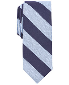 Bar III Men's Minerva Stripe Skinny Tie, Created for Macy's