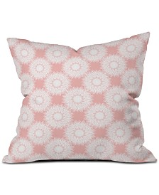 Deny Designs Lisa Argyropoulos Sunflowers and Blush Throw Pillow