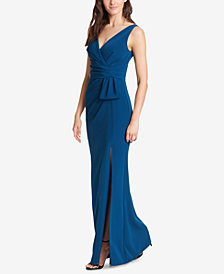 Jessica Howard V-Back Surplice Gown