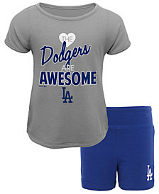 Outerstuff Los Angeles Dodgers Greatness Short Set, Toddler Girls (2T-4T)