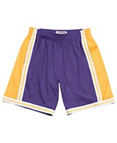 b3aebc313 Mitchell   Ness Men s Los Angeles Lakers Swingman Shorts