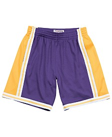 Mitchell & Ness Men's Los Angeles Lakers Swingman Shorts
