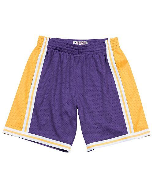 Mitchell & Ness Men's Los Angeles Lakers Swingman Shorts