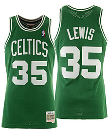 Mitchell & Ness Men's Reggie Lewis Boston Celtics Hardwood Classic Swingman Jersey