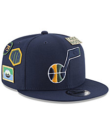 New Era Boys' Utah Jazz On-Court Collection 9FIFTY Snapback Cap