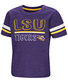 Colosseum LSU Tigers Sleeve Stripe T-Shirt, Toddler Boys (2T-4T)