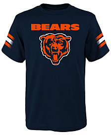 Outerstuff Chicago Bears Goal Line T-Shirt, Big Boys (8-20)