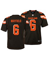 3fd28ad13e6 Nike Baker Mayfield Cleveland Browns Game Jersey, Big Boys (8-20)