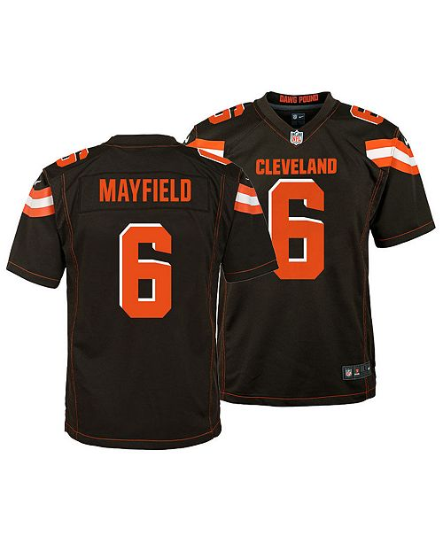 new products 308ac be194 Baker Mayfield Cleveland Browns Game Jersey, Big Boys (8-20)