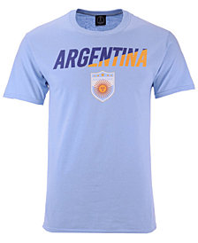 Fifth Sun Men's Argentina National Team Gym Wedge World Cup T-Shirt