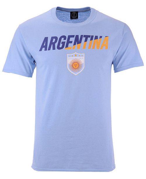 76ba9bd5b705f6 Fifth Sun Men s Argentina National Team Gym Wedge World Cup T-Shirt ...