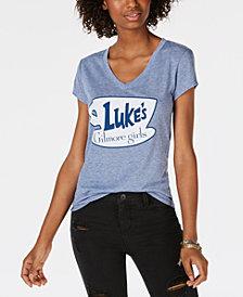 Love Tribe Juniors' Luke's Logo Graphic-Print T-Shirt