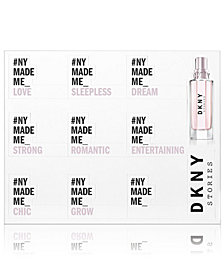 Receive a FREE DKNY Stories Scented Stickers with any purchase from the DKNY Stories fragrance collection