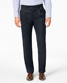 Lauren Ralph Lauren Men's Classic-Fit UltraFlex Stretch Micro-Twill Pleated Dress Pants