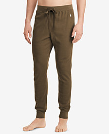Polo Ralph Lauren Men's Waffle-Knit Jogger Pants