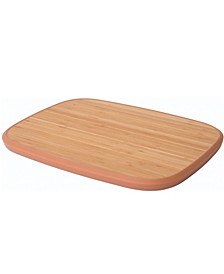 Leo Collection Pink Bamboo Anti-Slip Cutting Board
