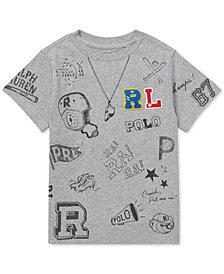Polo Ralph Lauren Toddler Boys Graphic Cotton T-Shirt