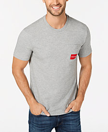 Calvin Klein Men's Logo-Print Pocket T-Shirt