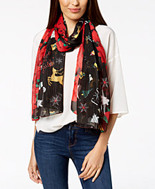 Charter Club Merry & Bright Oblong Scarf, Created for Macy's