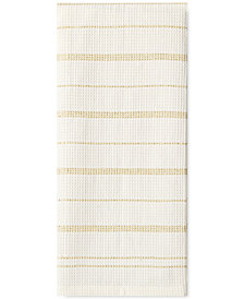 kate spade new york Gold Vintage Stripe Kitchen Towel