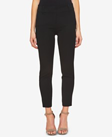 CeCe Twill Straight Leg Pants