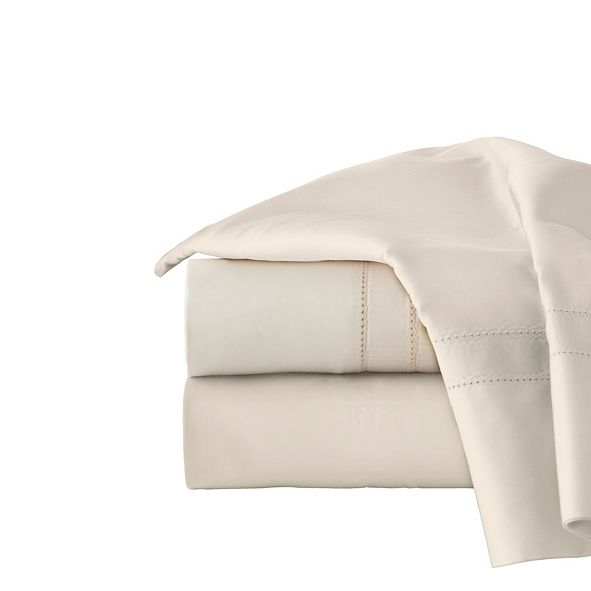 Pointehaven Solid 4-Pc. California King Sheet Set, 620 Thread Count Cotton