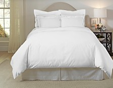 Pointehaven Solid 3-Pc. King/California King Duvet Set, 620 Thread-Count Cotton
