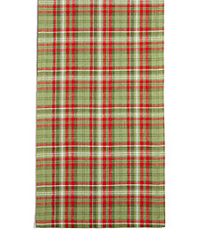 CLOSEOUT! Split P Evergreen Plaid Runner