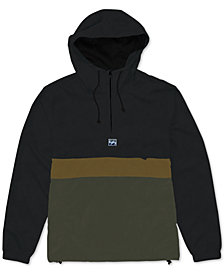 Billabong Men's Wind Swell Colorblocked 1/4-Zip Anorak