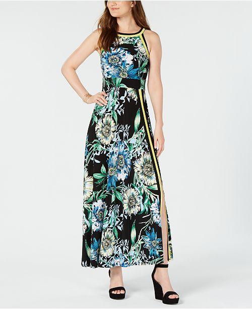 b37786e9b4 I.N.C. Floral-Print Maxi Dress, Created for Macy's
