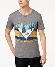 Love Moschino Men's Ski Mountain T-Shirt