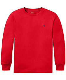 Polo Ralph Lauren Big Boys Cotton Long-Sleeve T-Shirt