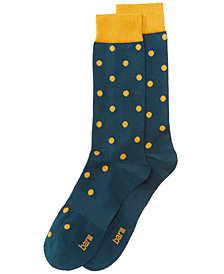 Bar III Men's Polka-Dot Socks, Created for Macy's