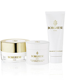Receive a free Invigorate & Regenerate gift with any $50 Borghese Purchase