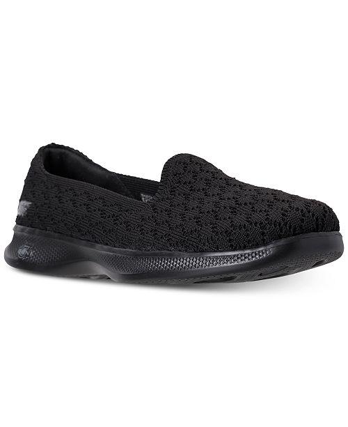 014b45cafcfe ... Skechers Women s GO Step Lite - Petal Walking Sneakers from Finish ...