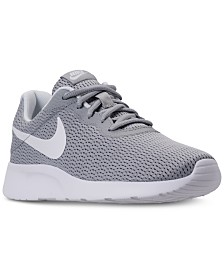 Nike Women's Tanjun Wide Width (2E) Casual Sneakers from Finish Line