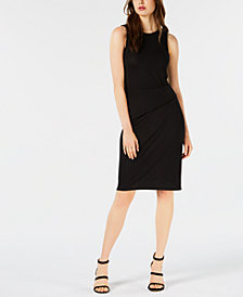 Bar III Heathered Ruched Dress, Created for Macy's
