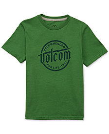 Volcom Big Boys Graphic-Print Cotton T-Shirt