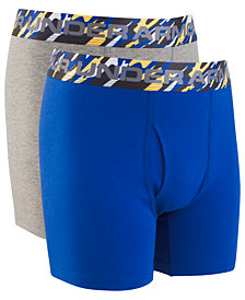 Under Armour Big Boys 2-Pack Charged Cotton® Boxer Briefs
