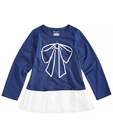 First Impressions Toddler Girls Peplum Bow Tunic, Created for Macy's