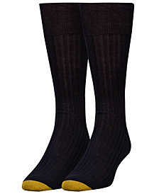 Gold Toe Men's Ribbed Dress Socks
