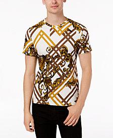 Versace Jeans Men's Geometric Print T-Shirt