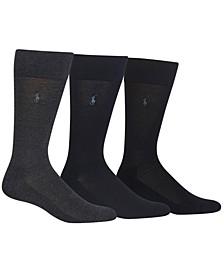 3 Pack Dress Men's Socks