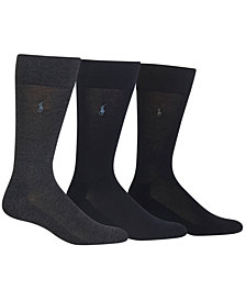 Polo Ralph Lauren 3 Pack Dress Men's Socks