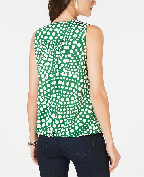 Dotted International Macy's N Wave Dot Polka Top C I for Created INC Concepts Surplice 7pdwqUpZ