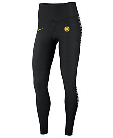 Nike Women's Pittsburgh Steelers Core Power Tight Leggings