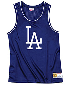 Mitchell & Ness Men's Los Angeles Dodgers Mesh Tank Top
